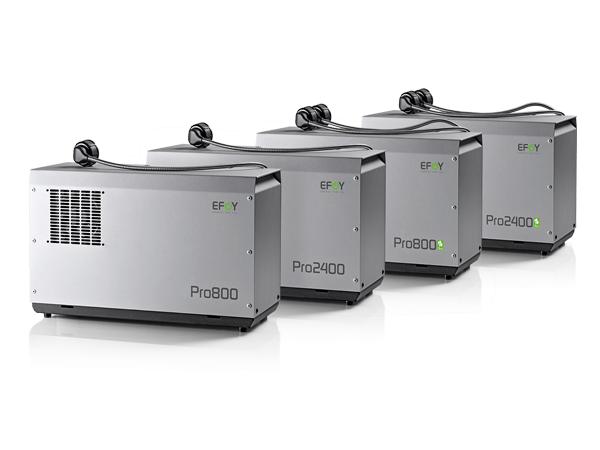 EFOY Pro enkel en Duo, 800 en 2400 variant